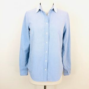 J. Crew The Boy Shirt in Washed Oxford Cloth